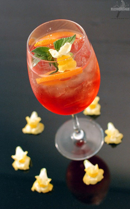 Snap Dragon Aperol Sprits