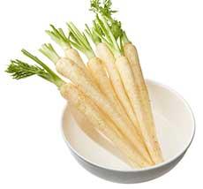 Baby White Carrot